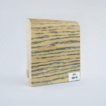 Шпонированный плинтус арт. 0018