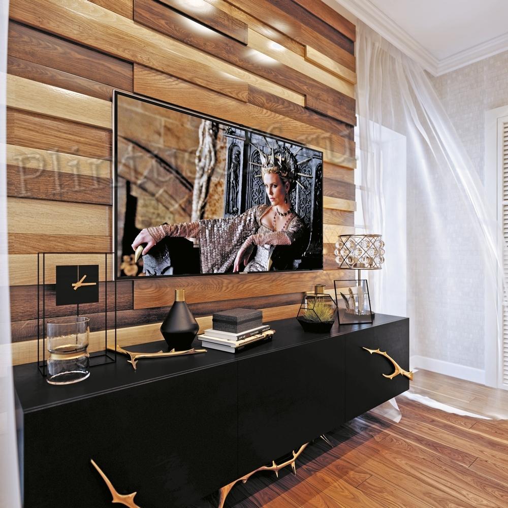 3D Шпонированные стеновые панели