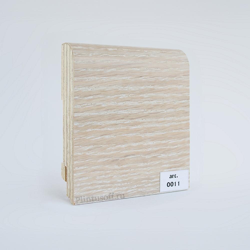 Шпонированный плинтус арт. 0011