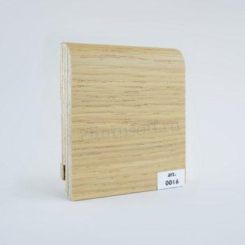 Шпонированный плинтус арт. 0016