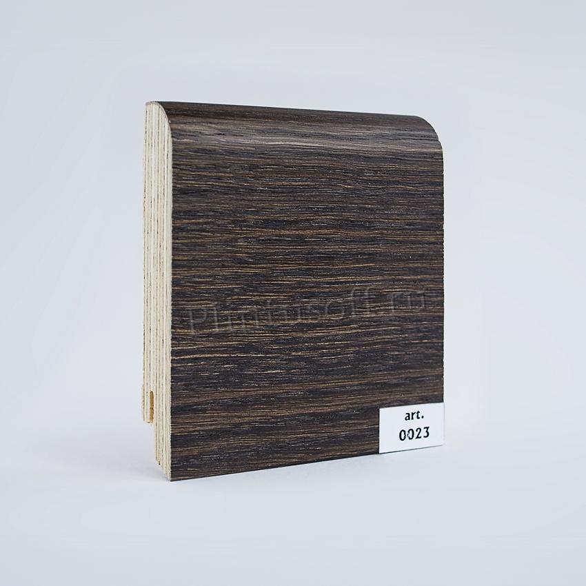 Шпонированный плинтус арт. 0023